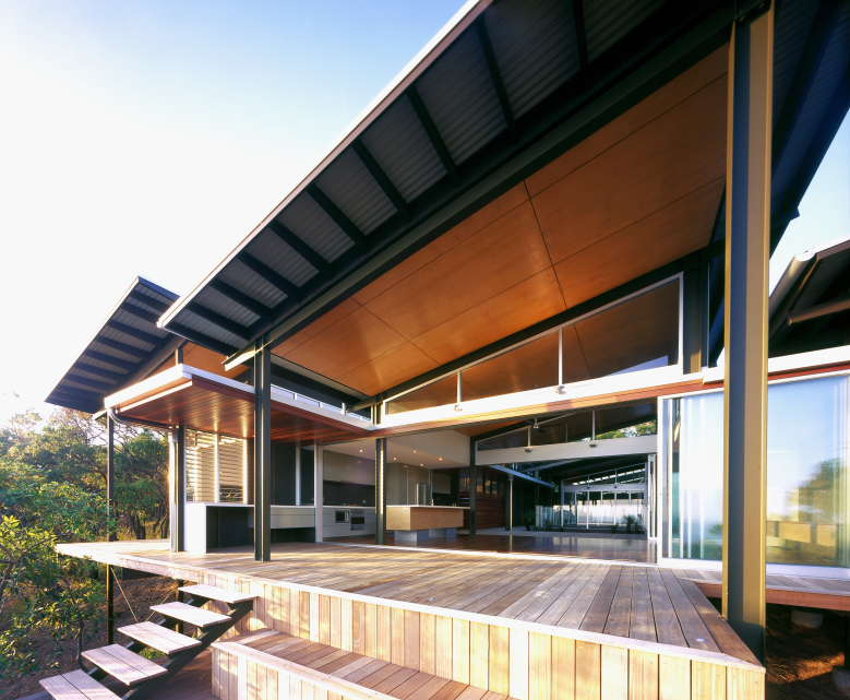 Lot 141sunrise at 1770 houses by hand - Maison architecte queensland tim ditchfield ...